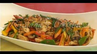 Moo Goo Gai Pan (chicken And Mushroom) Stir Fry