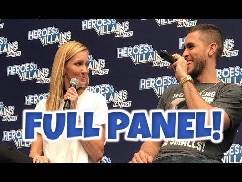 Arrow Full Panel Heroes And Villains  Fest London 2017