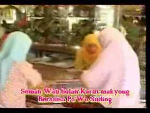Seman Wau Bulan-Karut Makyong  Part 1