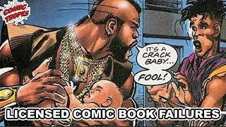 Licensed Comics Failures thumbnail