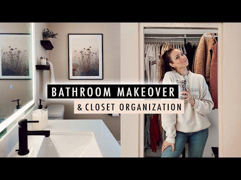 bathroom-makeover-+-closet-organization-(apartment-makeover-part-2)- -xo,-macenna