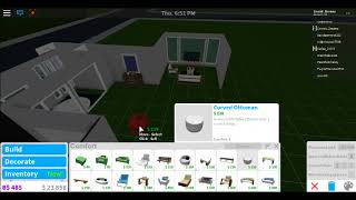 Cylito inspired modern house - 55k -Roblox welcome to bloxburg -P2