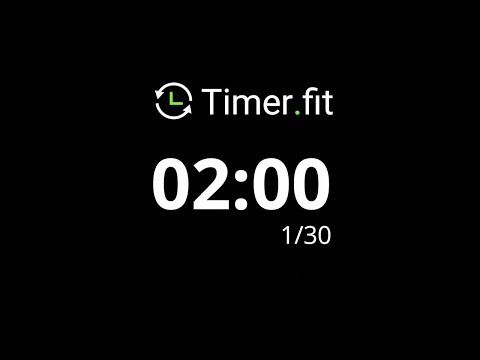 1 Minute Interval Timer with 10 Seconds Rest