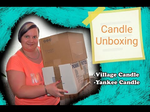 Candle Unboxing-Village Candle,Yankee Candle 📦