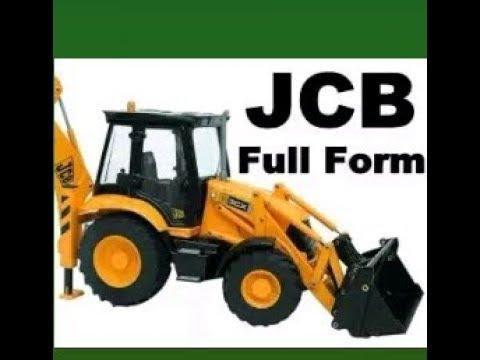 JCB का Full Form क्या है? By Ram Sir