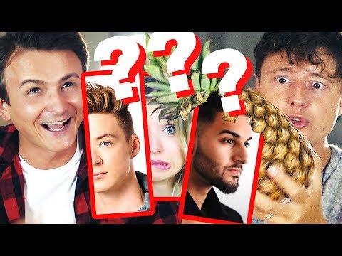 Wie groß sind diese YouTuber wirklich? I mit BESTRAFUNG!