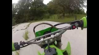 2000 Kawasaki KLX300R Test Ride GoPro #0915 MP4