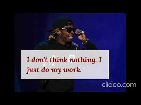 Lil Wayne: Best Quotes of Mr Music!!!