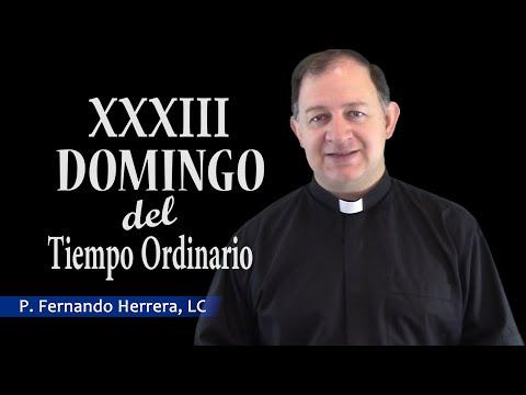 Domingo XXXIII del tiempo ordinario - Ciclo C - El Señor viene a gobernar la tierra