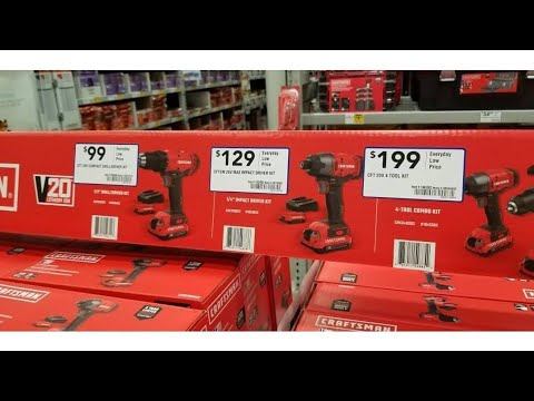 Lowes Live!!!  Craftsman Circular Saw!!  Has Arrived