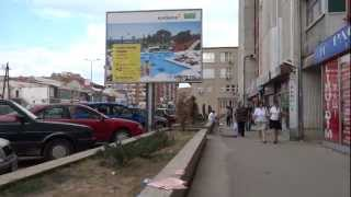 Walking in Pristina, Kosovo