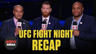 UFC Fight Night Recap: Jairzinho Rozenstruik KOs Alistair Overeem in final seconds | ESPN MMA