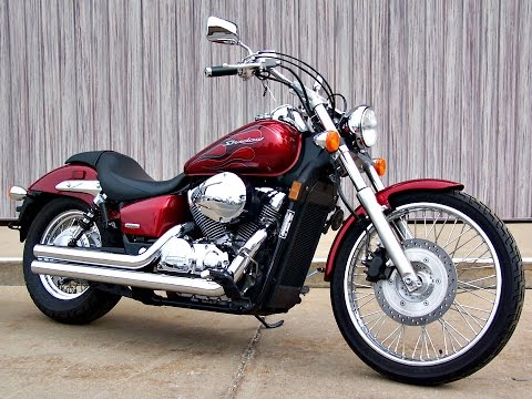 sold 2008 honda shadow spirit 750 vt750c2f 3191 miles. Black Bedroom Furniture Sets. Home Design Ideas