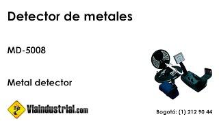 Detector de metales MD-5008