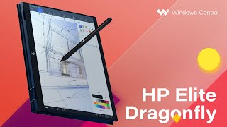 HP Elite Dragonfly is a droolworthy business 2-in-1 with serious style