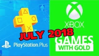 PS4 and XBOX ONE Free Games of July (2018)