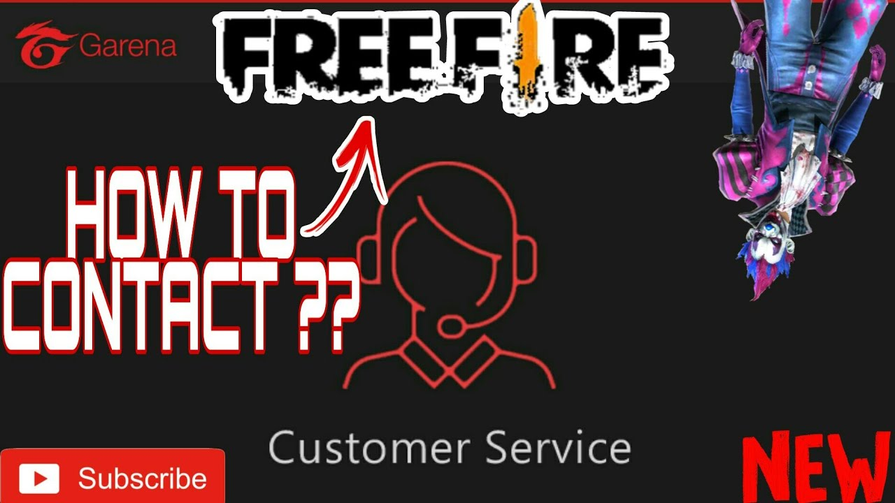 How to Contact Free Fire Customer Service? / How to Contact Garena Free  Fire? / Clash With Bhargav