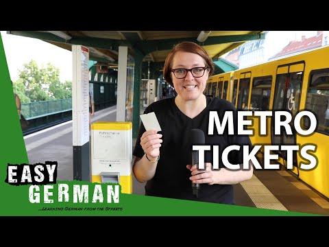 How to buy a metro ticket in Berlin | Super Easy German (106)