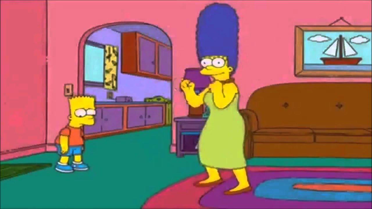 Marge Simpson dancing Iggy  YouTube