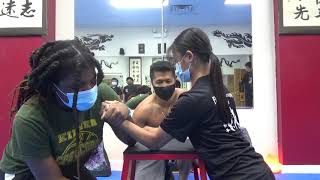 Kung Fu Arm Wrestling Test of Arm Strength