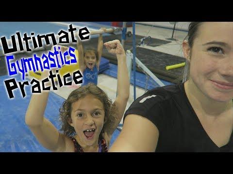 Ultimate Gymnastics Practice| Rachel Marie