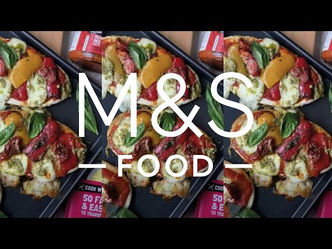 M&S Food | Cook with M&S...Pitta Pizzas
