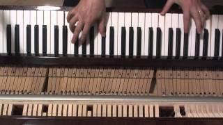 Черный кот на пианино в джазовой обработке (instrumental real piano cover)