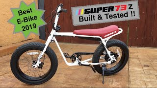 Super 73 z Delivery, Build and Test Ride