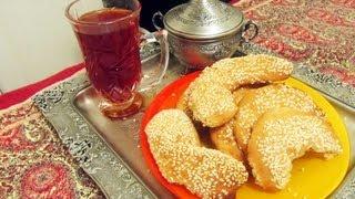 Persian Orange Sesame Seed Cookies