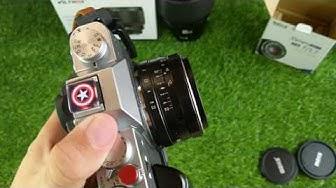 Trên tay lens Meike 35mm F1.7 cho Fujifilm, Sony, Oplympus, Panasonic và Canon EOS M
