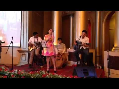 Tasya Tania - One and Only cover live in batam