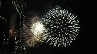 多摩川花火大会(世田谷区側) 10/13/2018 (ラスト8分)Firework
