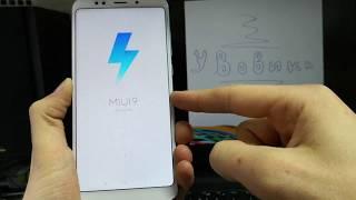 Как разблокировать Google Account Xiaomi Redmi 5 Plus. FRP! Android 8.1. Сентябрь 2018