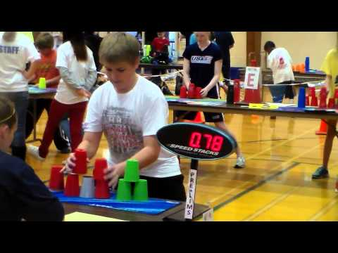 Connecticut Sport Stacking Competition: Prelims