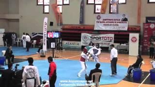 (3007) 55kg Emrecan Karateke vs Halil Cevik  (2016 Turkish Junior TKD championships)