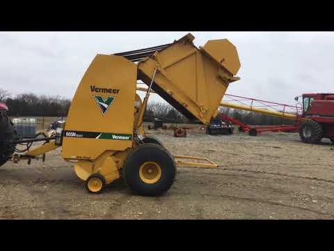 BigIron Online Auctions, 2016 Vermeer 605N Select Round Baler, April 25, 2018