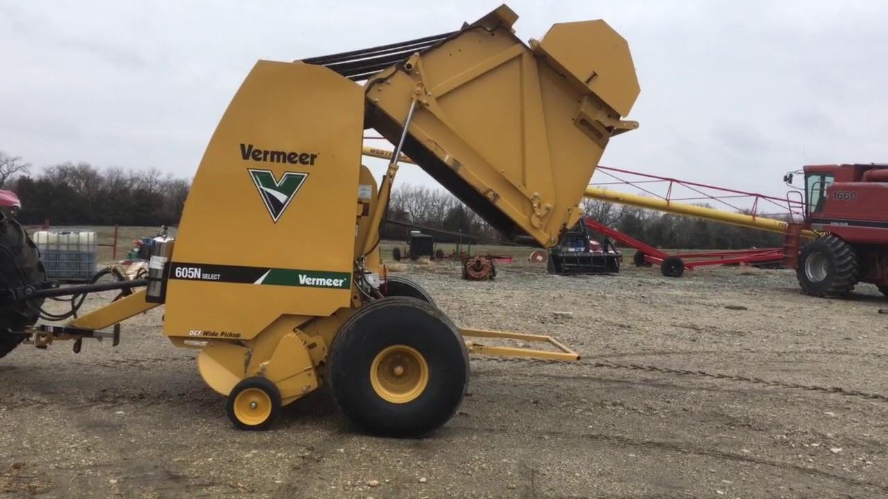 BigIron Online Auctions, 2016 Vermeer 605N Select Round Baler, April 25,  2018
