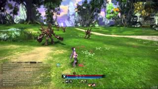Tera online прокачка персонажа #1 1-10 уровень 1 часть