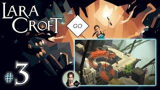 """LARA CROFT GO #3 - The Maze of Snakes [2/2] - """"Wąż i klucz"""""""
