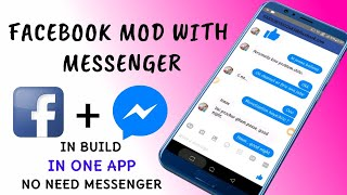 Download lagu Facebook mod with messenger no separate messenger needed MP3