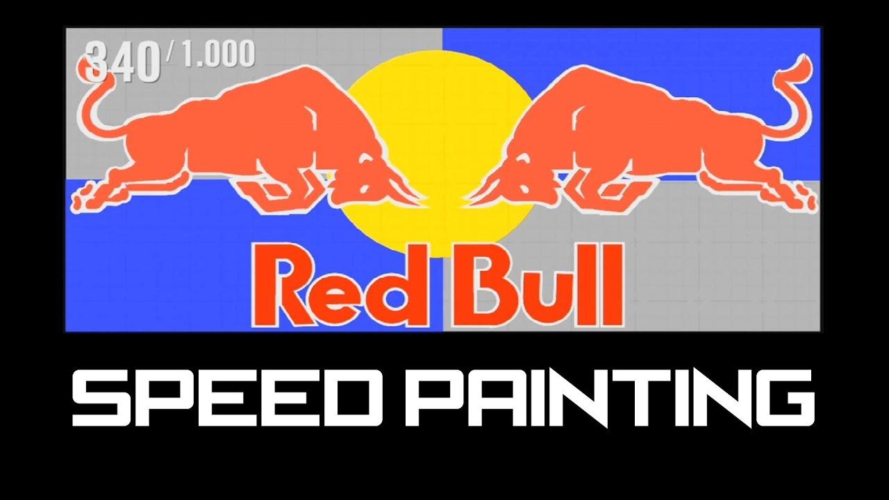 speed painting logo redbull forza motorsport 4 youtube painting logos free painting logo images