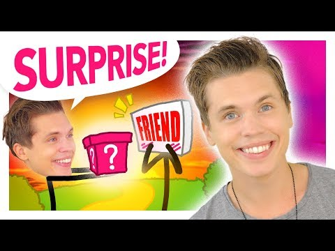 Surprising my singer high school friend who gave up on his talent (Animated Story + IRL Surprise)