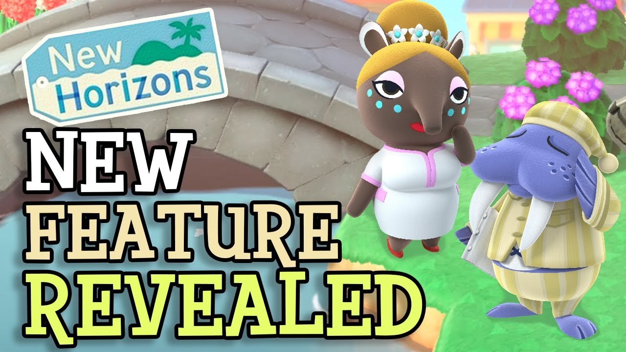 Animal Crossing New Horizons: UNRELEASED FEATURE REVEALED! (New ACNH Building Confirmed?)