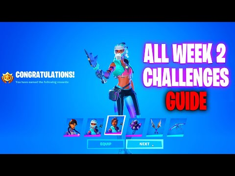 ALL WEEK 2 CHALLENGES GUIDE FORTNITE CHAPTER 2 SEASON 3