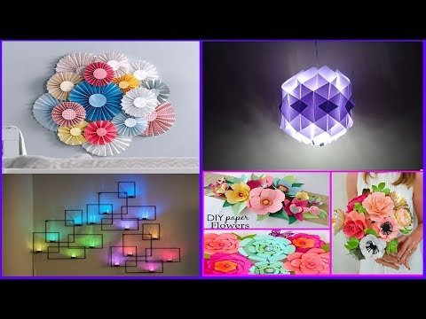 ✔ TOP 10 Paper Crafts | Paper Room Decor Ideas | DIY Easy Party Decorations Ideas | kids DIY Crafts