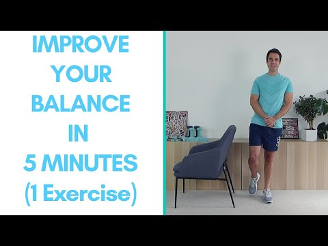 Do This 1 Exercise Daily For Better Balance | Seniors Exercises
