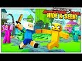 THE MOST REALISTIC CARTOON MINIGAME? - MINECRAFT ADVENTURE TIME MOD HIDE AND SEEK