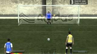FIFA 12 как бить и отбивать пeнальти