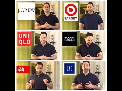 One Polo Shirt To Rule Them All - GAP, Banana, H&M, Uniqlo, JCrew, Target Polo Review