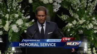 Muhammad Ali memorial: Bryant Gumbel